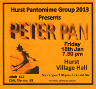 Peter Pan, January 2013
